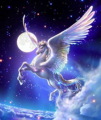PEGASUS: El caballo alado del dios del Olimpo.